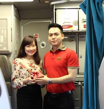 """三八国际妇女节来临之际:越捷航空公司推出200万张""""零价""""起的机票 hinh anh 1"""