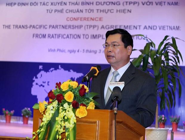 《跨太平洋伙伴关系协议》:从批准到实践 hinh anh 3