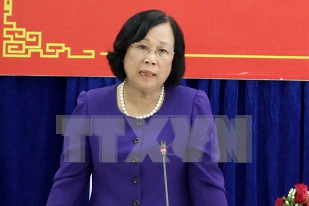越南将采取各种措施消除在各领域中的性别差距 hinh anh 1