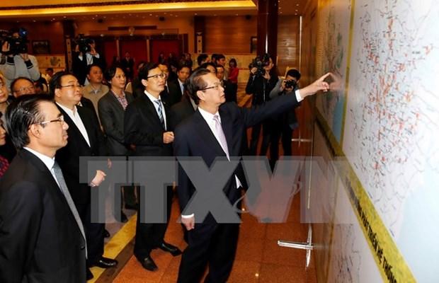 越南政府总理:最大限度地开发利用潜力与优势 实现首都圈发展 hinh anh 1