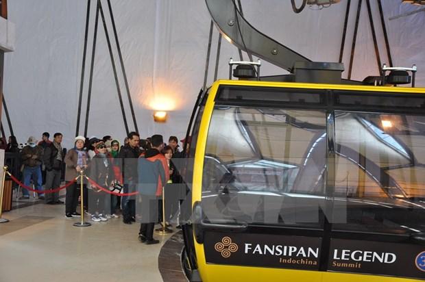 番西邦-沙坝缆车系统共为4万多人次提供服务 hinh anh 2