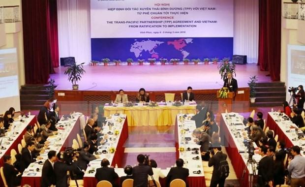 《跨太平洋伙伴关系协议》:从批准到实践 hinh anh 1