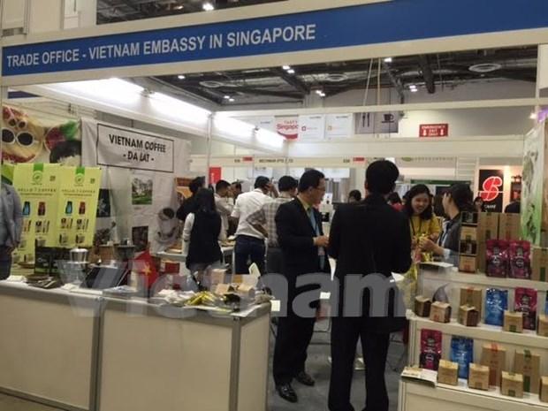 越南咖啡企业拟通过新加坡加大对亚洲国家出口力度 hinh anh 1