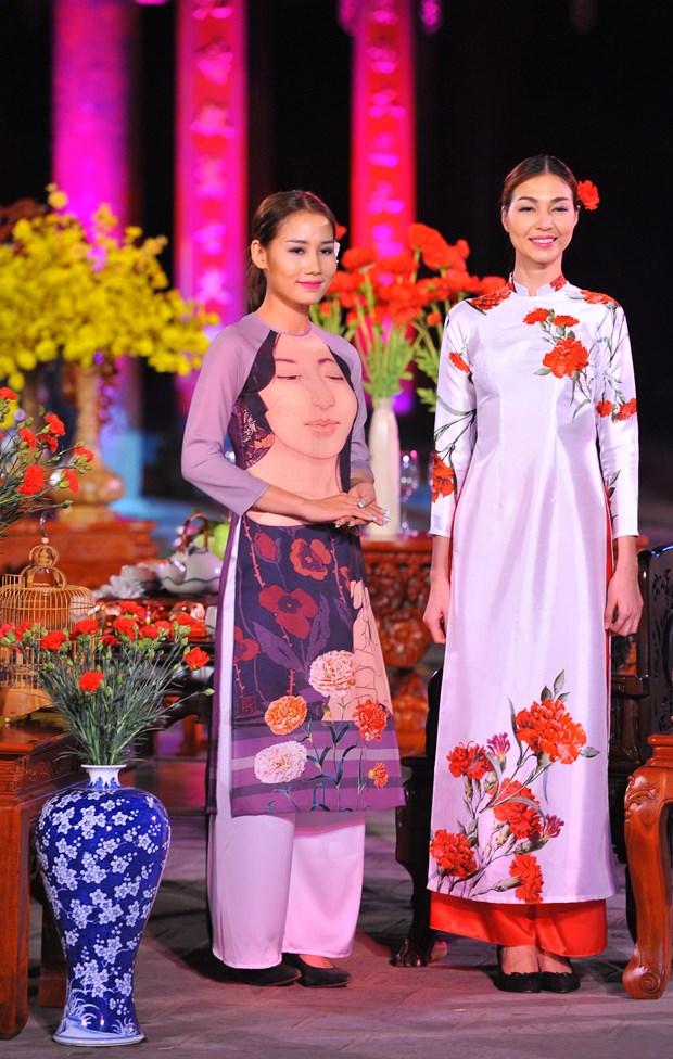 2016年越南长衣文化节 诠释越南女性之美 hinh anh 3