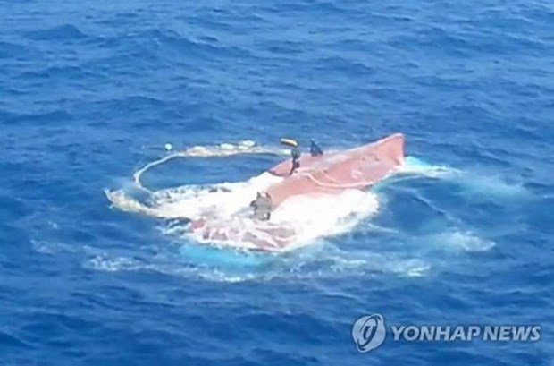 韩国扩大对六名失踪越南渔民的搜救范围 hinh anh 1
