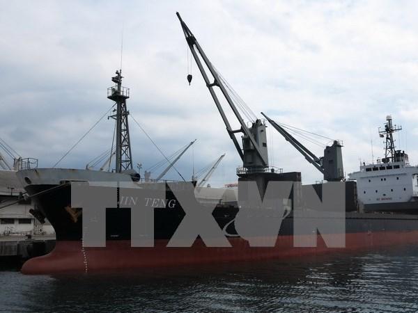 菲律宾执行联合国安理会涉朝决议扣留一艘朝鲜货船 hinh anh 1