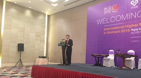 世界10个国家的50多所大学参加在越南举行的国际高等教育活动 hinh anh 1