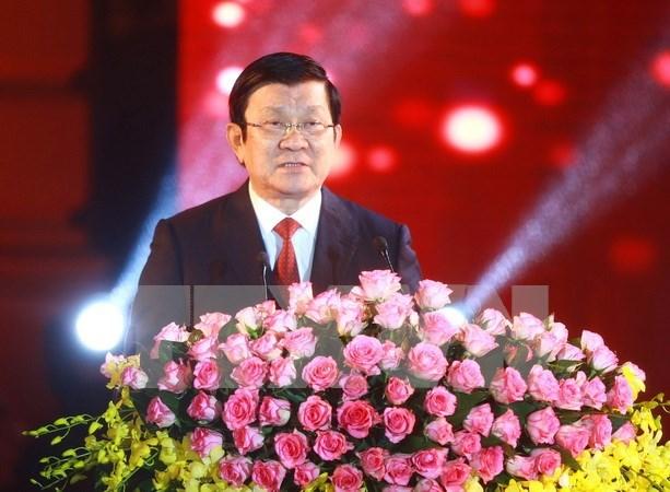 张晋创主席出访坦、莫、伊三国:进一步加强与三国的友好合作关系 hinh anh 1