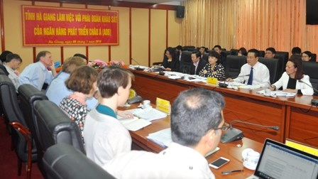 亚洲开发银行协助河江省发展绿色城市 hinh anh 1