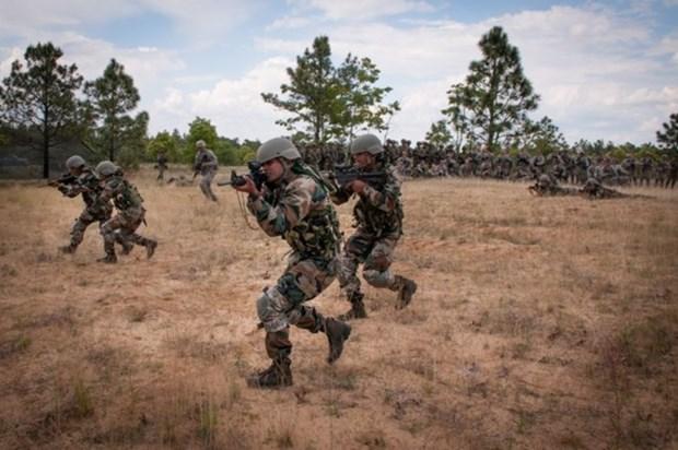 印度与印尼将举行联合军事训练 hinh anh 1