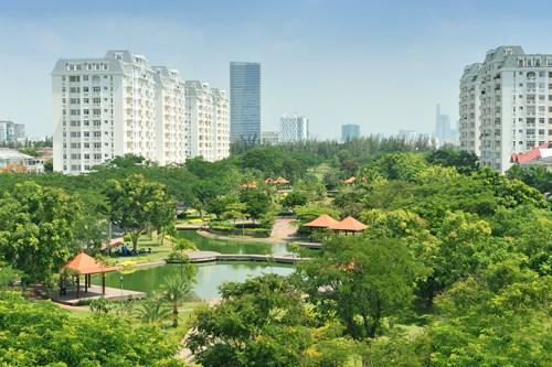 越南努力打造绿色城市 hinh anh 1