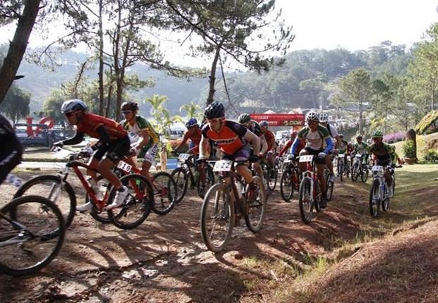 第二次国际山地自行车越野挑战赛在越南大叻市举行 hinh anh 1