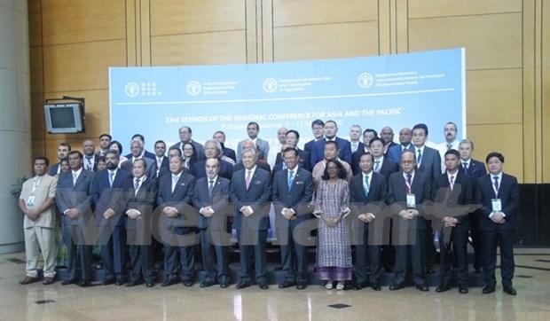 越南参加在马来西亚举行的第33届联合国粮农组织亚太区域会议 hinh anh 1