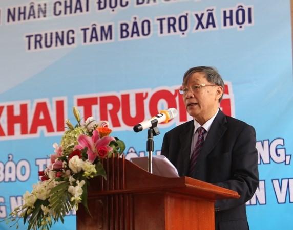 越南橙毒剂受害者康复养护中心正式投入运行 hinh anh 2