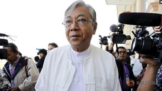 缅甸联邦议会明天将推选新总统 hinh anh 1