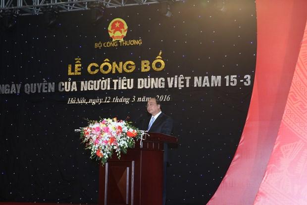 3•15越南消费者权益日公布仪式在河内举行 hinh anh 1