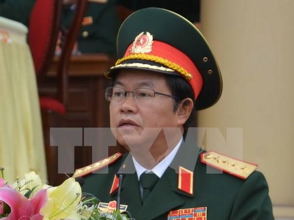 越南人民军总参谋长杜伯巳大将与赴老出席ACDFIM-13的各国团长举行双边会晤 hinh anh 1