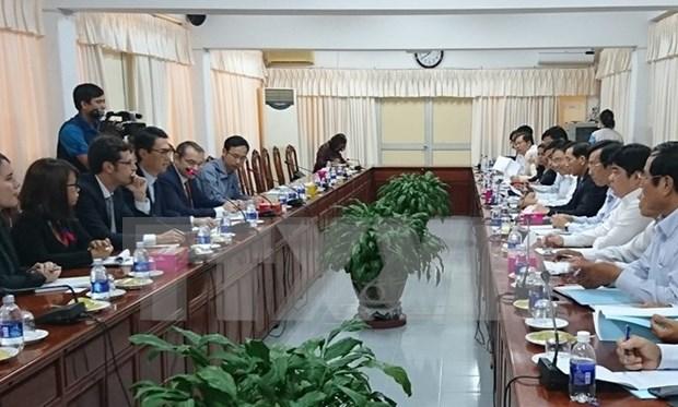 第十次越法地方间合作会议即将在芹苴市举行 hinh anh 1