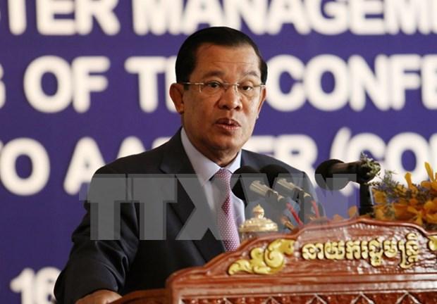 柬埔寨与老挝加强双边合作 hinh anh 1
