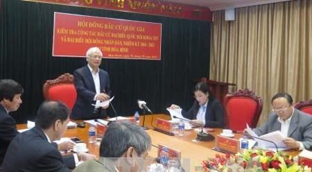 越南国会副主席汪周刘对山萝省选举筹备工作进行检查 hinh anh 1