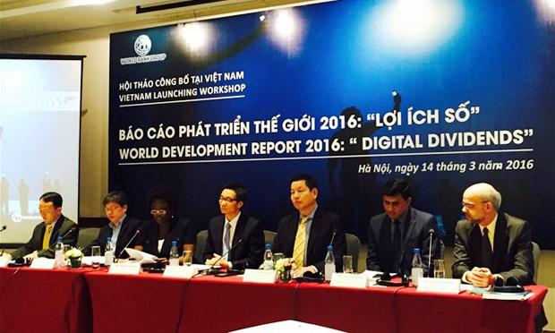 《2016世界发展报告:数字红利》在河内发布 hinh anh 1