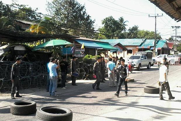 泰国南部发生连串袭击事件 hinh anh 1