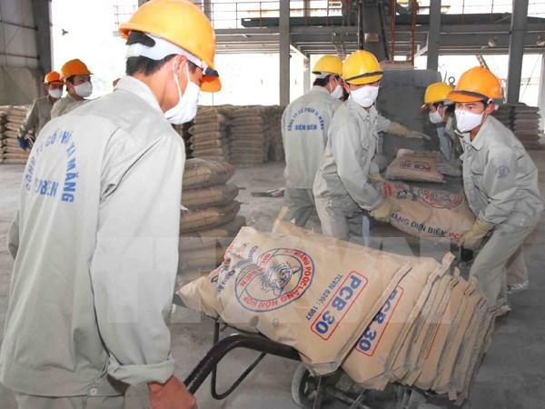 今年前两个月水泥销量近950万吨 hinh anh 1