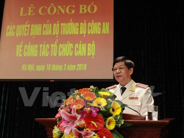 段维姜少将任河内市公安局局长 hinh anh 1