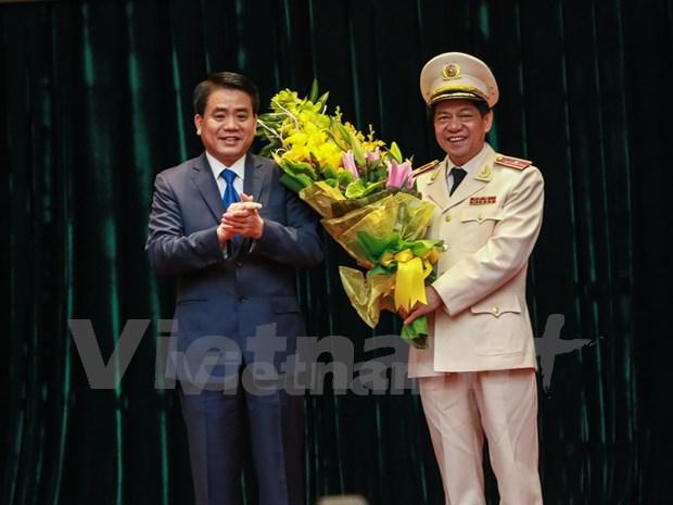 段维姜少将任河内市公安局局长 hinh anh 2