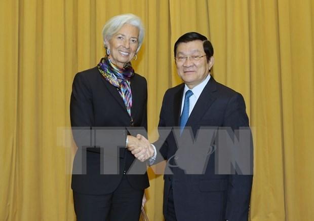 IMF希望加大同越南的合作力度 hinh anh 1