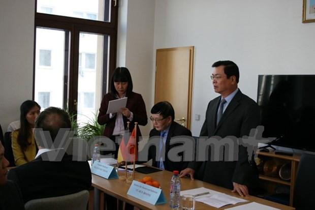 越南与德国加强贸易投资合作 hinh anh 1