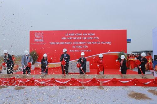 雀巢(越南)有限公司在兴安省建设新厂 hinh anh 1