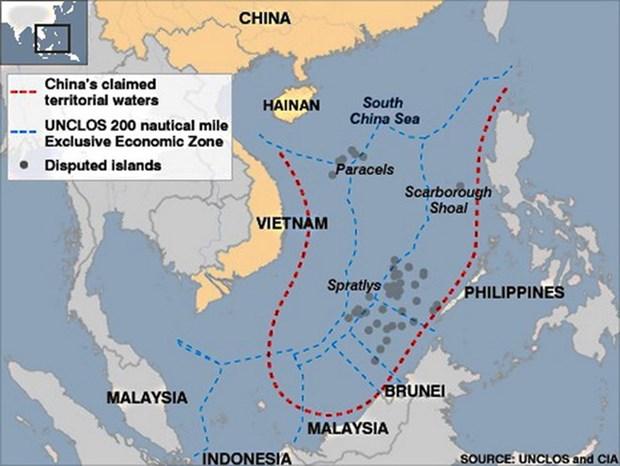 世界媒体:中国在东海海域采取的行为违反国际法 hinh anh 1