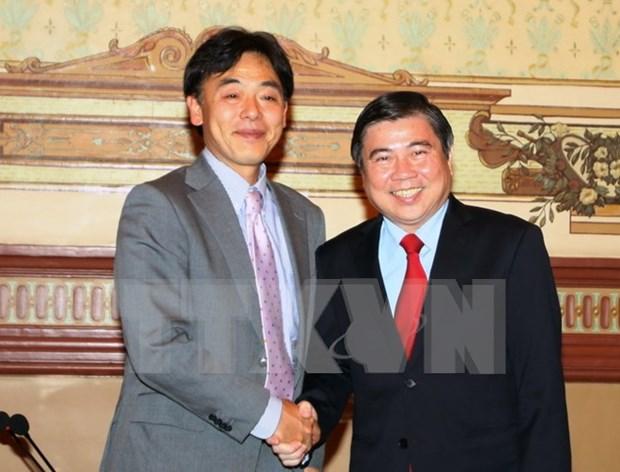 日本国际协力机构继续与越南胡志明市加强多领域合作 hinh anh 1