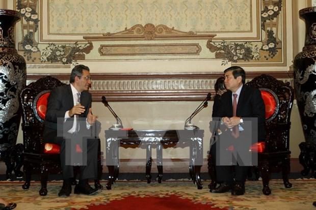 美国霍尼韦尔国际公司拟与胡志明市乃至越南建立长期合作关系 hinh anh 1