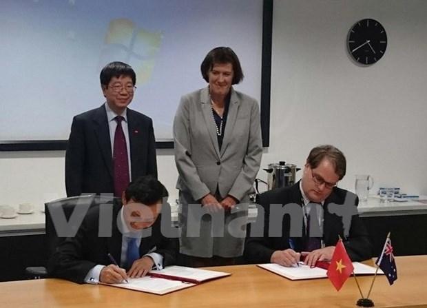 越南与澳大利亚加强科技领域合作 hinh anh 1