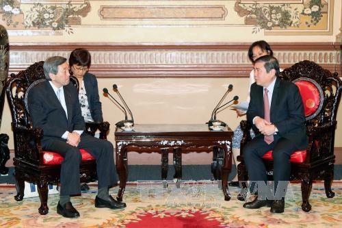 日本是胡志明市最大合作伙伴之一 hinh anh 2