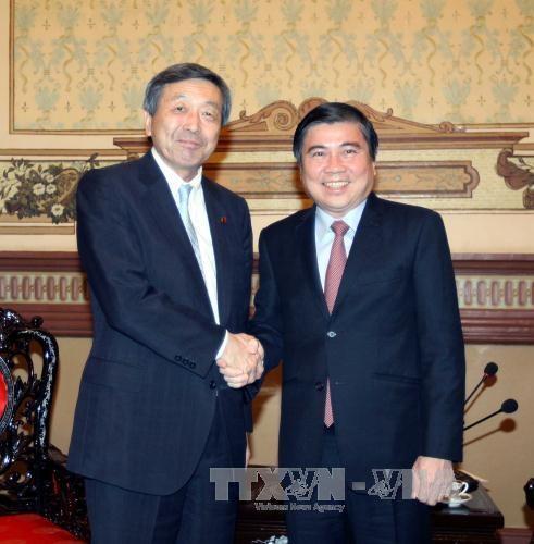 日本是胡志明市最大合作伙伴之一 hinh anh 1