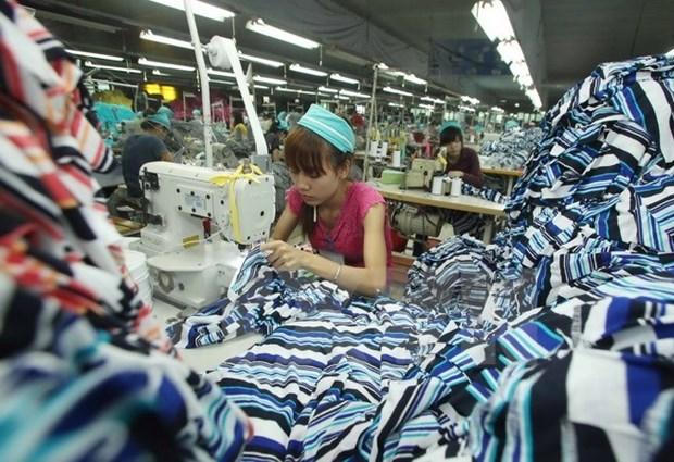 越日两国同意就推动越南纺织服装业发展进行磋商 hinh anh 1