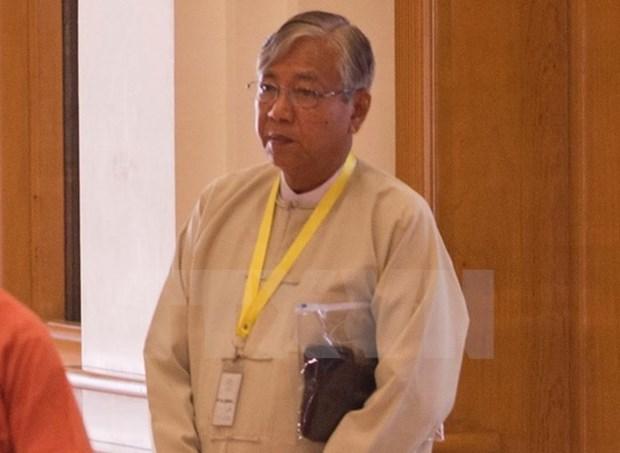 缅甸联邦议会通过新政府组建计划 hinh anh 1