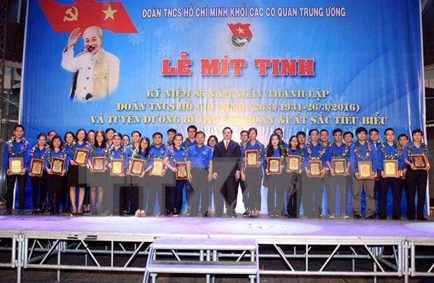 越南各地展开一连串2016年青年月活动 hinh anh 1