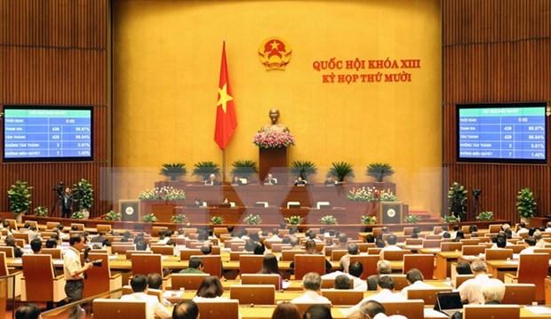 越南第十三届国会第十一次会议在河内召开 hinh anh 1