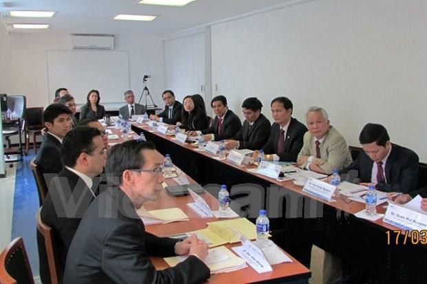 越南审计署代表团出访墨西哥 hinh anh 1
