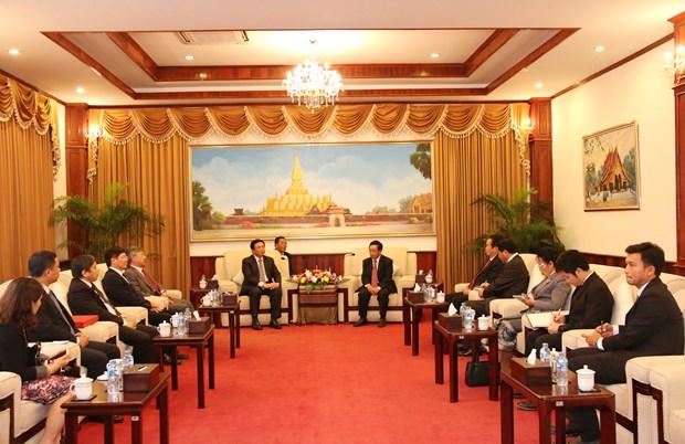 老挝高度评价与越南社会科学翰林院的合作 hinh anh 1