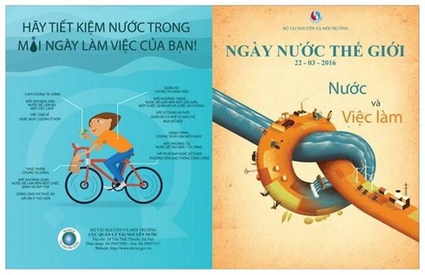 越南举行集会 响应2016年世界水日 hinh anh 1
