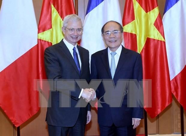 法国国民议会议长巴尔托洛内圆满结束对越访问 hinh anh 1