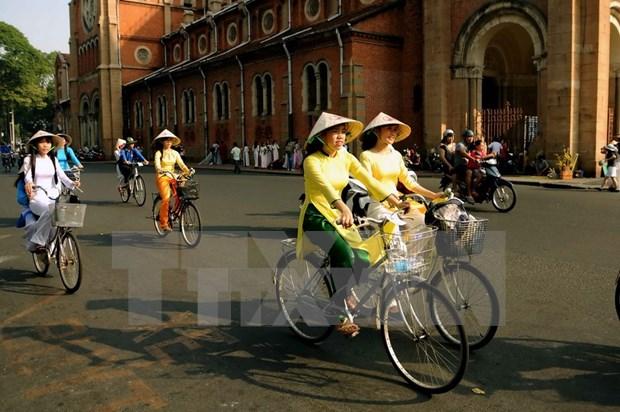 """""""我爱的城市""""自行车游行 hinh anh 2"""