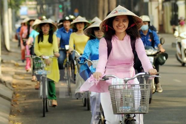 """""""我爱的城市""""自行车游行 hinh anh 1"""