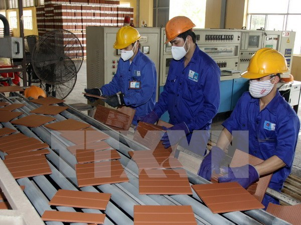 Viglacera投建的工业区效果显著 hinh anh 1