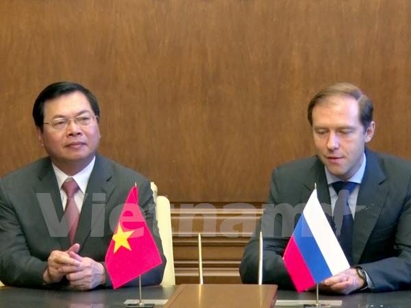 越南与俄罗斯加强工业合作 hinh anh 1